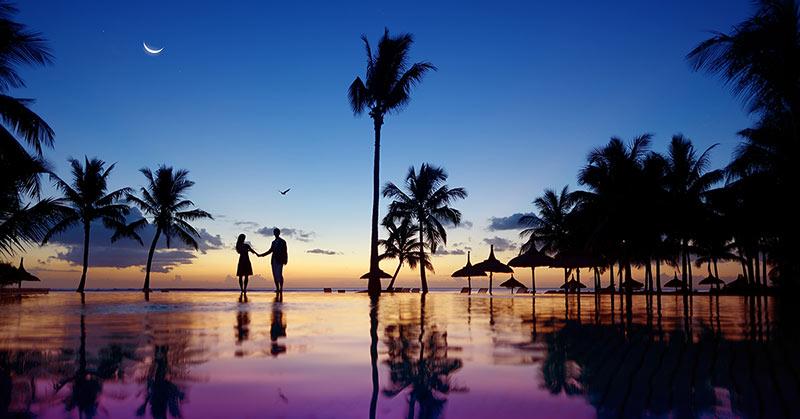 Bröllopsresa Mauritius