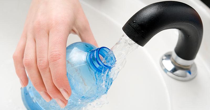 Dricka kranvatten på Mauritius